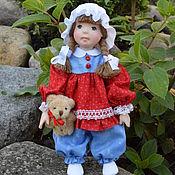 Куклы и игрушки ручной работы. Ярмарка Мастеров - ручная работа Кукла из  полимерной глины Алевтина. Handmade.