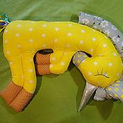 """Куклы и игрушки ручной работы. Ярмарка Мастеров - ручная работа Подушка сплюшки. Единорог """"Волшебные сны"""". Handmade."""
