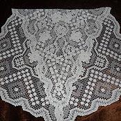 Винтаж handmade. Livemaster - original item Track Filet lace,Italy. Handmade.