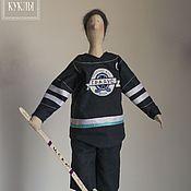 Куклы и игрушки ручной работы. Ярмарка Мастеров - ручная работа В хоккей играют настоящие мужчины!. Handmade.