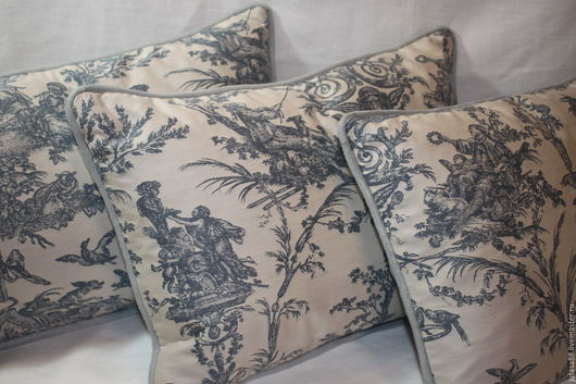 Текстиль, ковры ручной работы. Ярмарка Мастеров - ручная работа. Купить Декоративные наволочки с кантом. Handmade. Комбинированный, подушки для гостиной