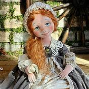 Куклы и игрушки ручной работы. Ярмарка Мастеров - ручная работа Золотко текстильная коллекционная интерьерная авторская кукла. Handmade.