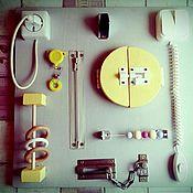 Куклы и игрушки ручной работы. Ярмарка Мастеров - ручная работа Бизиборд1. Handmade.