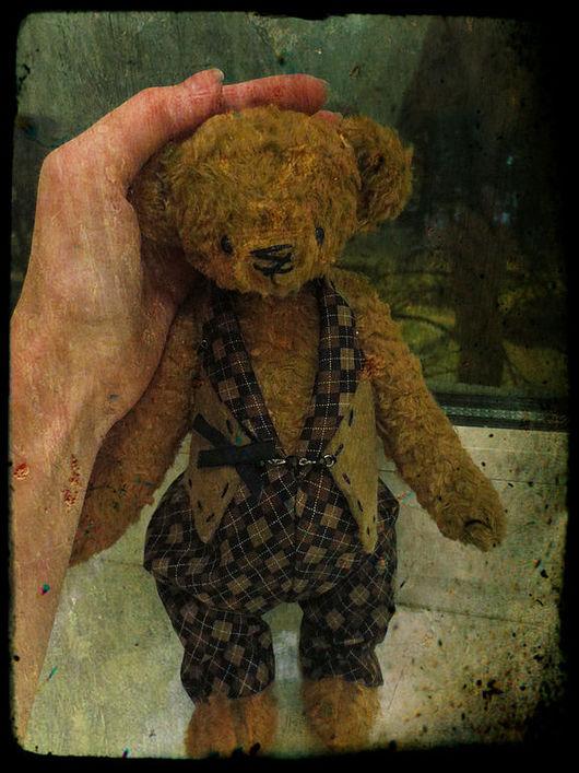 Мишки Тедди ручной работы. Ярмарка Мастеров - ручная работа. Купить Семён. Handmade. Коричневый, мишка тедди, ручная работа