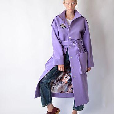 Одежда ручной работы. Ярмарка Мастеров - ручная работа Пальто Lavendels. Handmade.