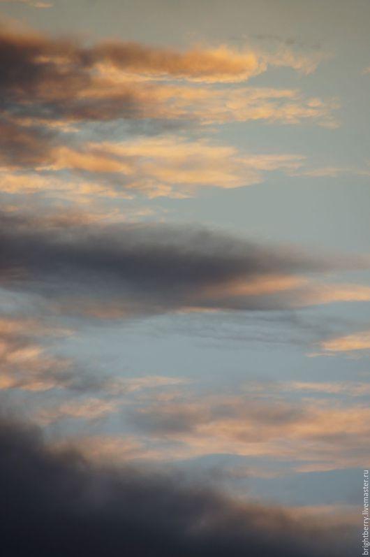 Фотокартины ручной работы. Ярмарка Мастеров - ручная работа. Купить Фото картина НЕБО. Handmade. Голубой, серый, краски неба