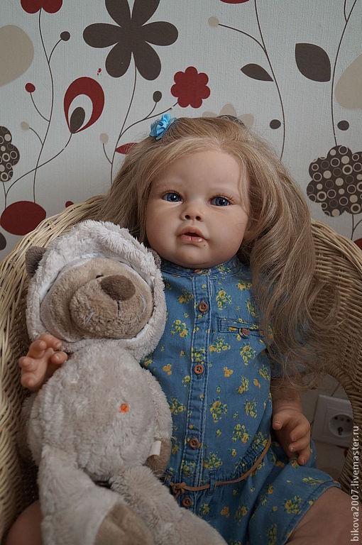 Куклы-младенцы и reborn ручной работы. Ярмарка Мастеров - ручная работа. Купить Машенька!!. Handmade. Бежевый, генезис