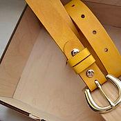 Аксессуары handmade. Livemaster - original item Women`s strap leather. Handmade.