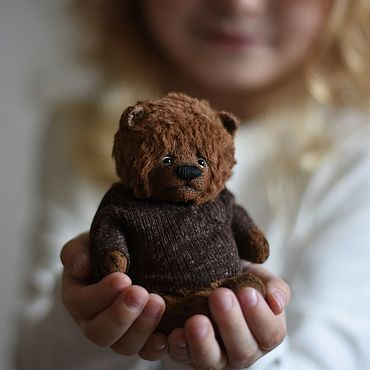 """Куклы и игрушки ручной работы. Ярмарка Мастеров - ручная работа """"Пух..."""". Handmade."""