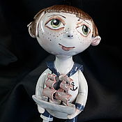 Куклы и пупсы ручной работы. Ярмарка Мастеров - ручная работа Алые паруса. Handmade.
