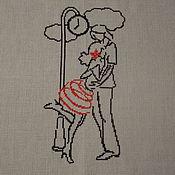 Картины и панно ручной работы. Ярмарка Мастеров - ручная работа Встреча. Handmade.