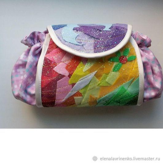 Сумочка-клатч из ткани и фетра, Сумки, Москва, Фото №1