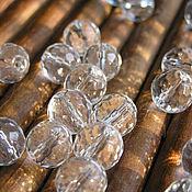 Материалы для творчества handmade. Livemaster - original item Rhinestone beads 10 mm. Handmade.