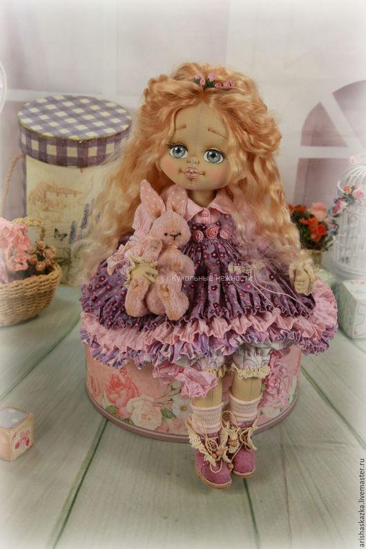 Коллекционные куклы ручной работы. Ярмарка Мастеров - ручная работа. Купить Бриджит . Кукла авторская текстильная artdoll. Handmade. Шебби
