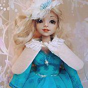 """Куклы и игрушки ручной работы. Ярмарка Мастеров - ручная работа Куколка-болтушка """"Бирюза"""". Handmade."""