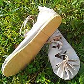 Обувь ручной работы. Ярмарка Мастеров - ручная работа ПОРШИ. Модель 2 (с каблуком).. Handmade.