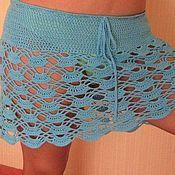 Одежда ручной работы. Ярмарка Мастеров - ручная работа пляжная юбка. Handmade.