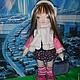 Коллекционные куклы ручной работы. Ярмарка Мастеров - ручная работа. Купить Текстильная игровая кукла. Handmade. Разноцветный