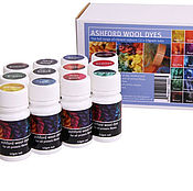 Paints handmade. Livemaster - original item A set of dyes for wool and silk 12 colors. Handmade.