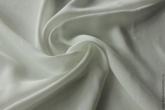 Шитье ручной работы. Ярмарка Мастеров - ручная работа. Купить СКИДКА! 33501 летящий итальянский креп. Handmade. Белый
