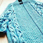 """Одежда ручной работы. Ярмарка Мастеров - ручная работа Кардиган """"Azraq"""". Handmade."""