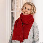 Аксессуары handmade. Livemaster - original item Cashmere knitted scarf