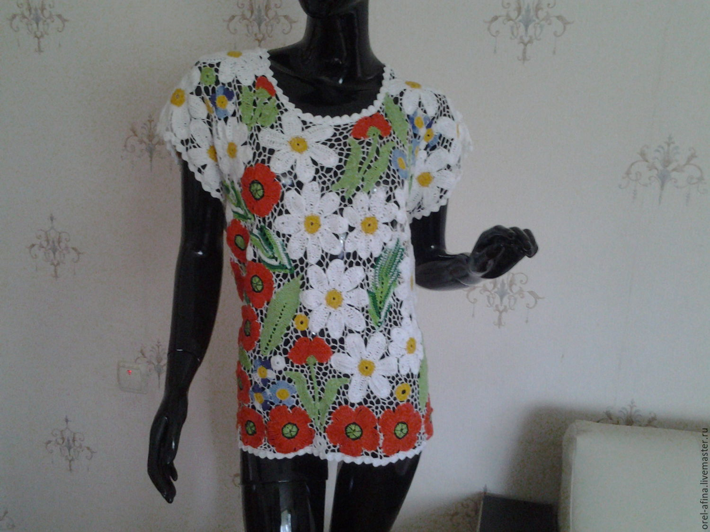 Вязаные блузки купить в интернет магазине