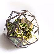 """Для дома и интерьера ручной работы. Ярмарка Мастеров - ручная работа Фларариум, террариум """"Бриллиант"""" мини. Handmade."""