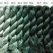 Нитки ручной работы. Ярмарка Мастеров - ручная работа Шелковые нитки для вышивки, 100% шелк. Handmade.