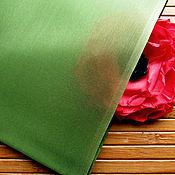 Материалы для творчества handmade. Livemaster - original item Yukino (USU) green and olive. Japanese fabric for citadele. Handmade.