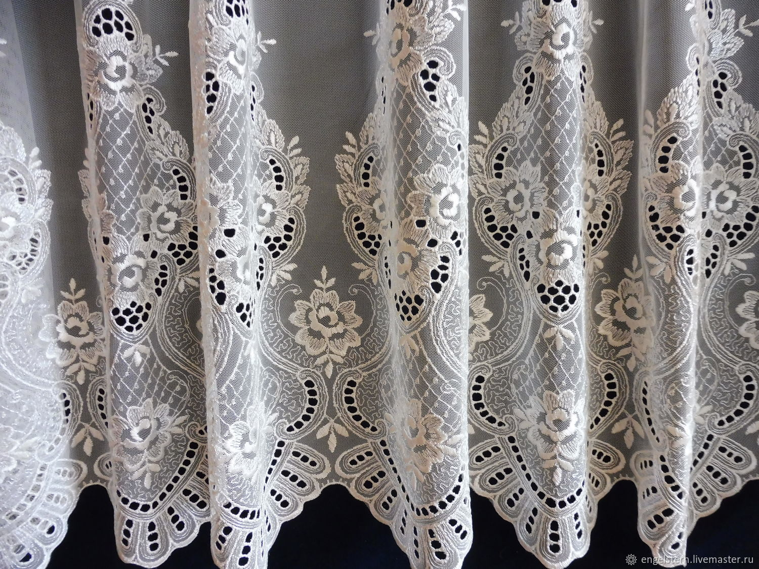 Tulle openwork.Art.N .№-068, Curtains1, Gera,  Фото №1