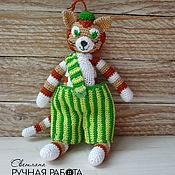Куклы и игрушки ручной работы. Ярмарка Мастеров - ручная работа Котёнок Финдус. Handmade.