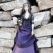 Шарнирная кукла ручной работы. Ярмарка Мастеров - ручная работа Шарнирная фарфоровая кукла Винтер. Продана. Handmade.