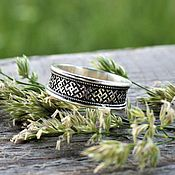 Украшения handmade. Livemaster - original item Ring Slavic amulet silver 925. Handmade.