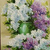 Картины и панно handmade. Livemaster - original item lilac spring. Handmade.