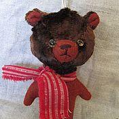 Куклы и игрушки ручной работы. Ярмарка Мастеров - ручная работа мишки .зверушки брелки броши. Handmade.