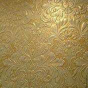 Дизайн и реклама ручной работы. Ярмарка Мастеров - ручная работа Декорирование линкруста(рельефные обои). Handmade.