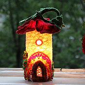 Для дома и интерьера ручной работы. Ярмарка Мастеров - ручная работа Светильник Домик Макового Короля, сказочный домик, волшебный подарок. Handmade.