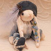 """Куклы и игрушки ручной работы. Ярмарка Мастеров - ручная работа Зайка паж """"Колокольчик"""". Handmade."""
