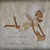 """Куклы и игрушки ручной работы. Ярмарка Мастеров - ручная работа """"Ангел хранитель"""" - авторская кофейная куколка. Handmade."""
