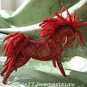 """Куклы и игрушки ручной работы. Ярмарка Мастеров - ручная работа Игрушка """"Конь"""". Handmade."""