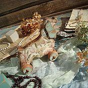 """Подарки к праздникам ручной работы. Ярмарка Мастеров - ручная работа """"Линда"""" фигурка -собака-символ года. Handmade."""