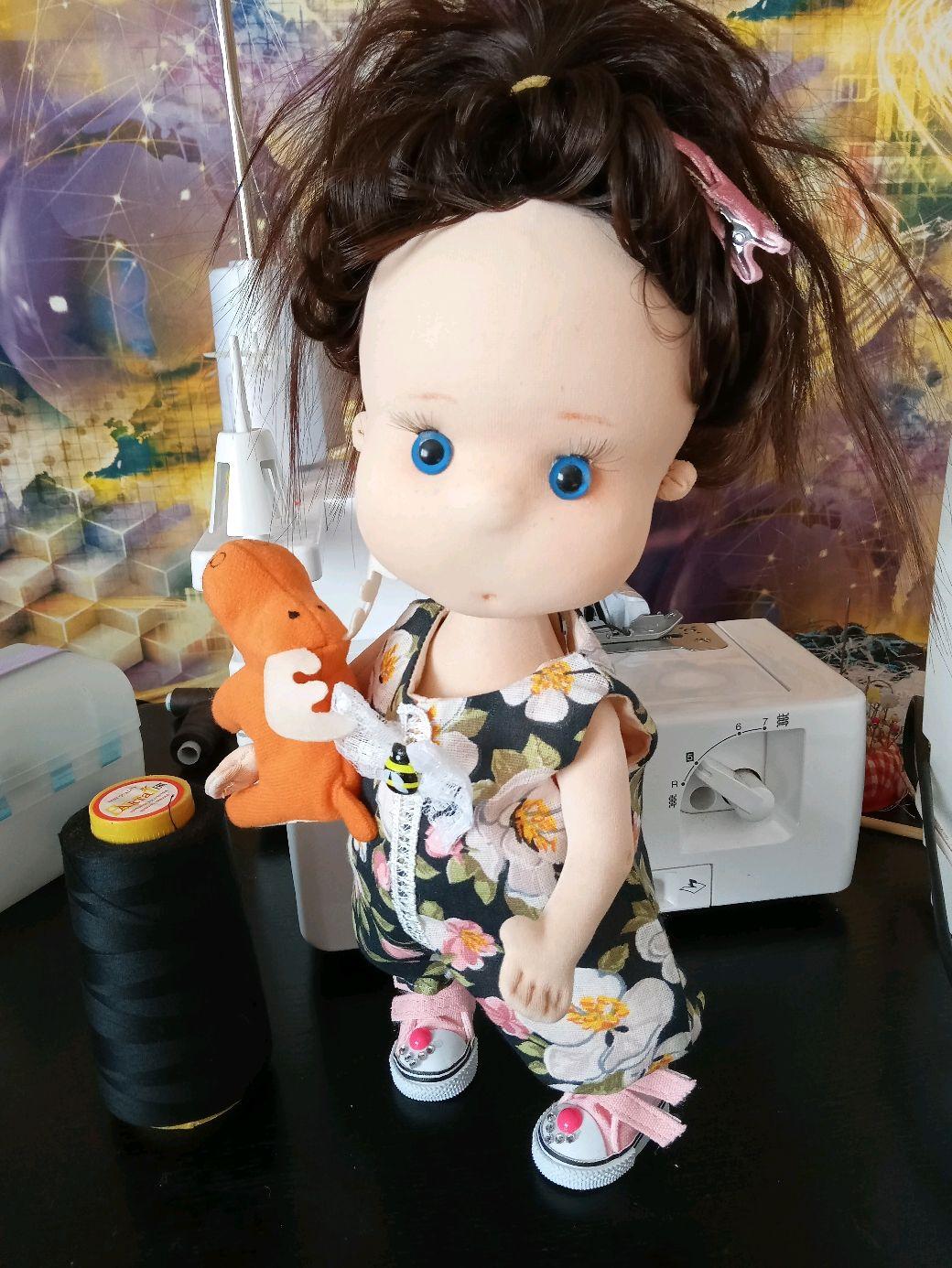 Куколка текстильная, Куклы и пупсы, Димитровград,  Фото №1