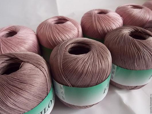 Вязание ручной работы. Ярмарка Мастеров - ручная работа. Купить Пряжа Фило де Скозиа (Италия) - Розово-шоколадный микс. Handmade.