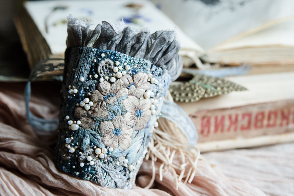 Браслет текстильный своими руками