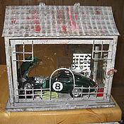 Сувениры и подарки ручной работы. Ярмарка Мастеров - ручная работа Экспозиция мини гаража. Handmade.