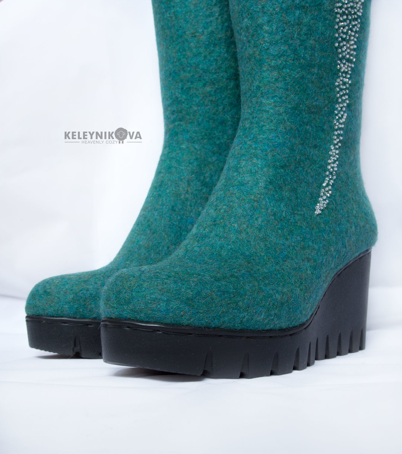 b8439bb1de Felted boots Cassiopeia – shop online on Livemaster with shipping ...