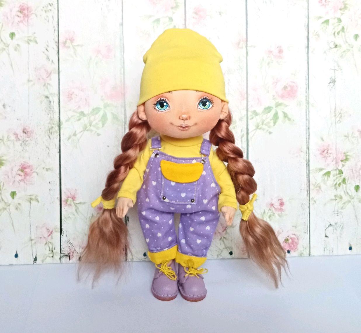 Стильная малышка, Интерьерная кукла, Салават,  Фото №1