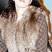 Одежда handmade. Livemaster - original item Vest fur