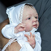Куклы и игрушки ручной работы. Ярмарка Мастеров - ручная работа Младенец reborn baby doll Millie by Olga Auer. Handmade.